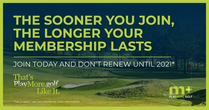 new playmoregolf membership